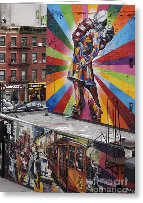 Greeting Card featuring the photograph Meatpacking District Nyc by Juergen Held