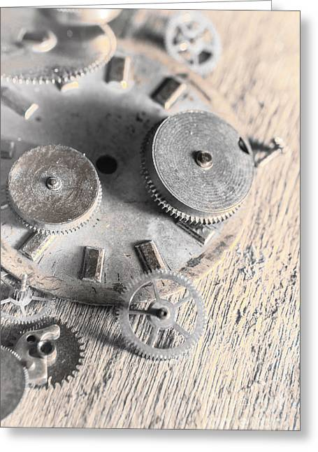 Mechanical Art Greeting Card by Jorgo Photography - Wall Art Gallery