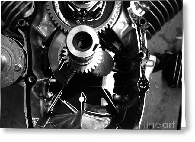 Mechanical Energy Greeting Card by Michael Gailey