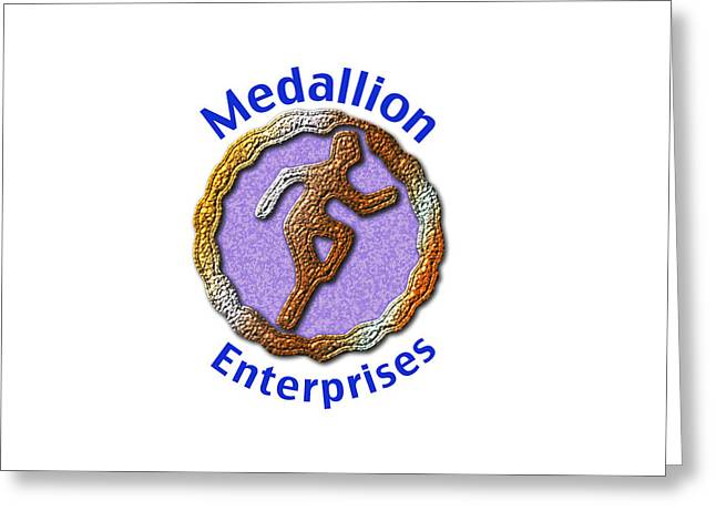 Medallion Enterprises Greeting Card