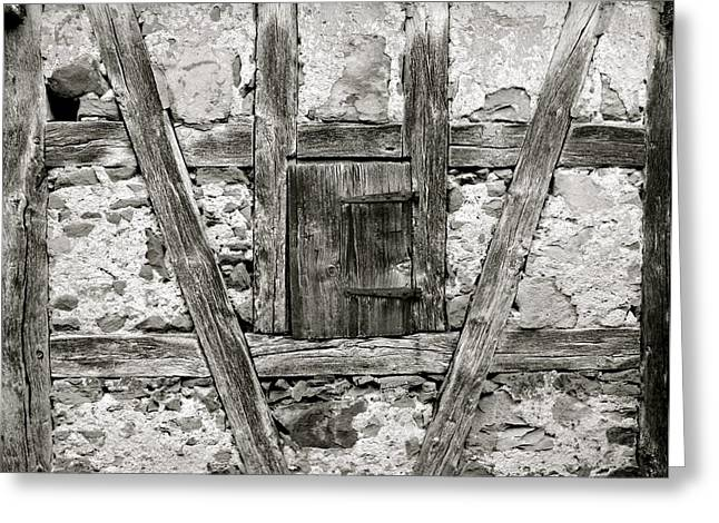 Medieval Architecture Greeting Card by Corinne Rhode