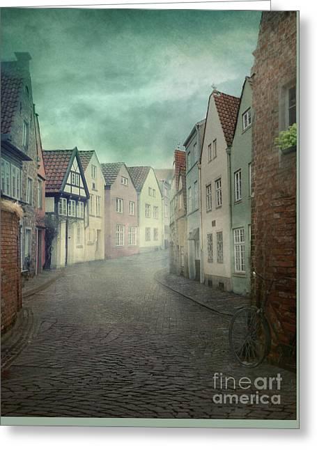 Medieval City Greeting Card