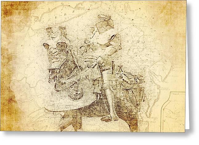 Medieval Europe Greeting Card