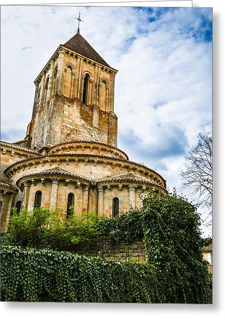 Ancient Medieval Monastery Greeting Card