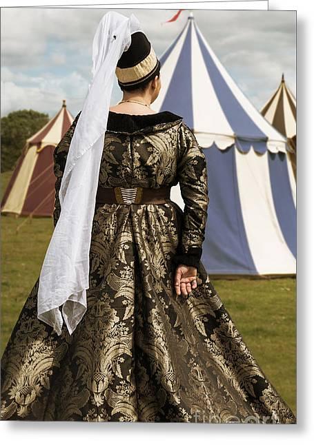 Medieval Woman Greeting Card
