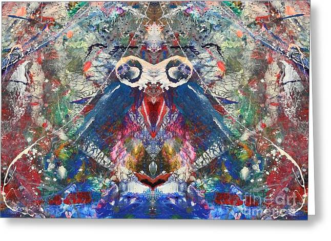 Meditation Greeting Card by Dan Cope