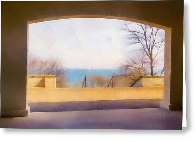 Mediterranean Dreams Greeting Card by Scott Norris