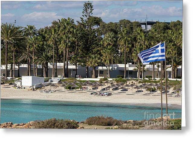 Mediterranean Sea.cyprus Greeting Card