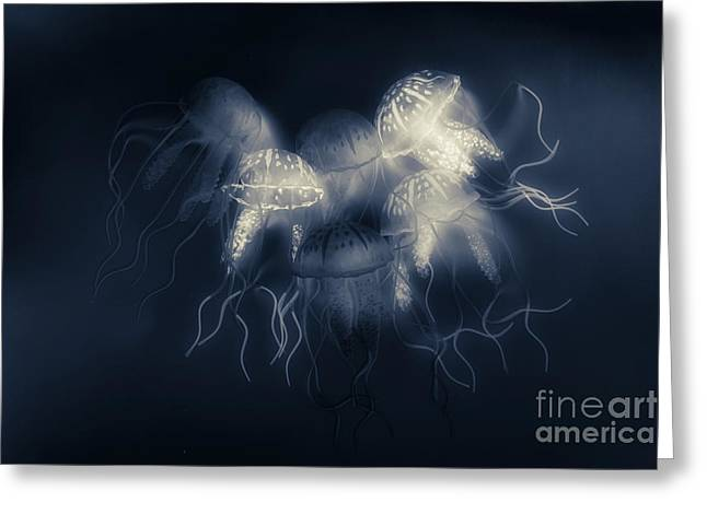 Medusas Light Greeting Card