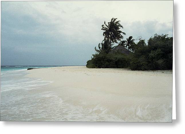 Meedhupparu Beach Greeting Card