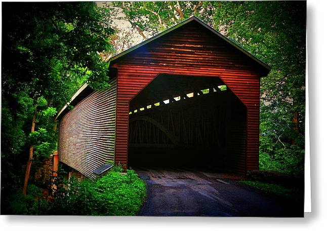 Meem's Bottom Covered  Bridge Greeting Card