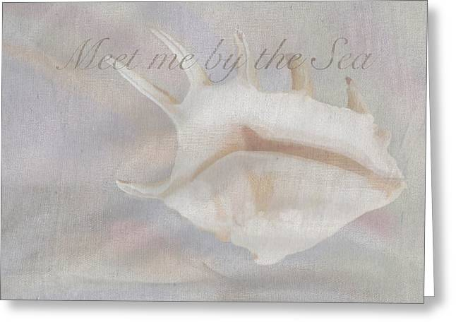 Meet Me By The Sea Greeting Card