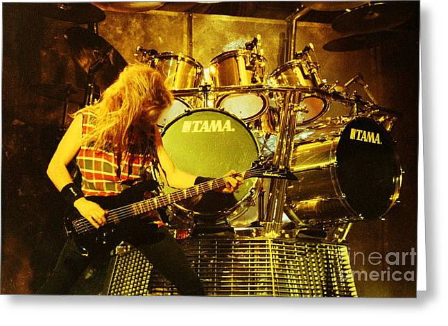 Megadeath 93-david-0364 Greeting Card by Timothy Bischoff