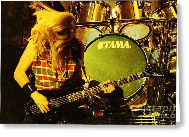 Megadeath 93-david-0365 Greeting Card by Timothy Bischoff