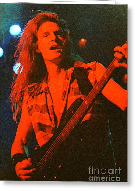 Megadeath 93-david-0370 Greeting Card by Timothy Bischoff