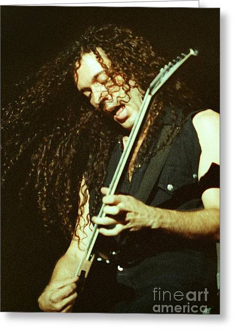 Megadeath 93-marty-0372 Greeting Card by Timothy Bischoff
