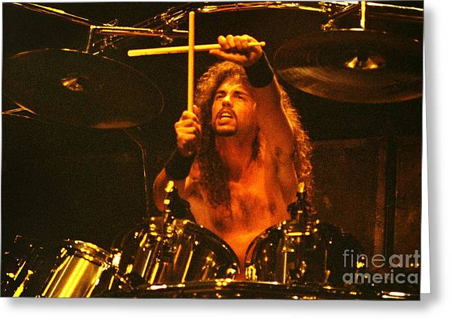 Megadeath 93-nick-0374 Greeting Card by Timothy Bischoff