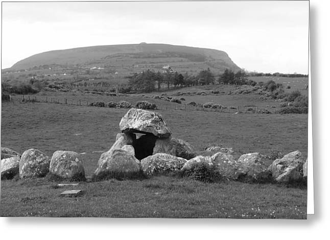 Megalithic Monuments Aligned Greeting Card