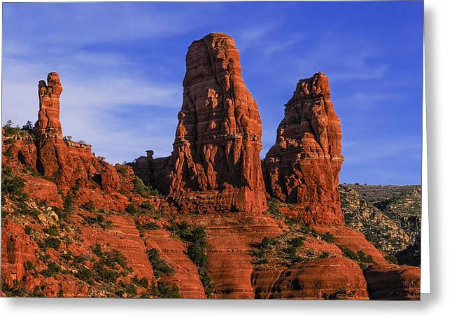 Megalithic Red Rocks Greeting Card