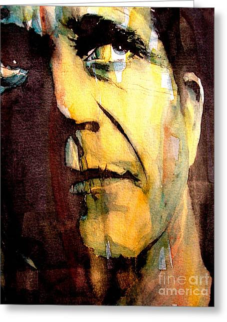 Mel Gibson Greeting Card by Paul Lovering