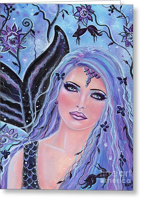 Melia Greeting Card by Renee Lavoie
