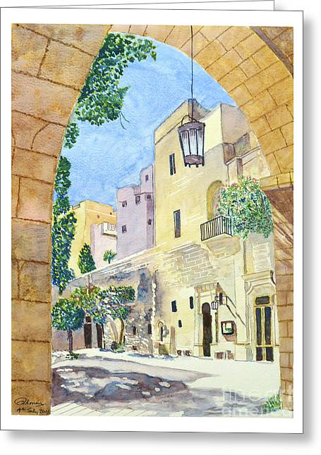 Mellieha Malta Greeting Card