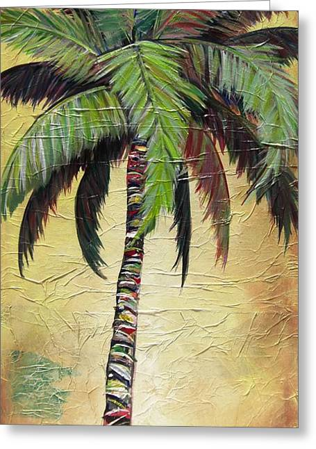 Mellow Palm I Greeting Card
