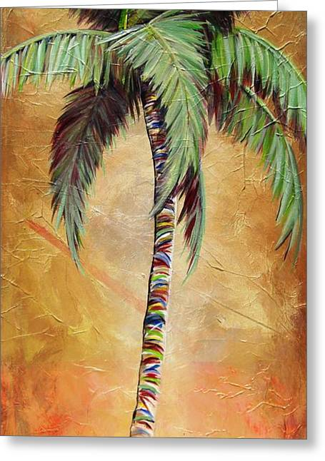 Mellow Palm II Greeting Card