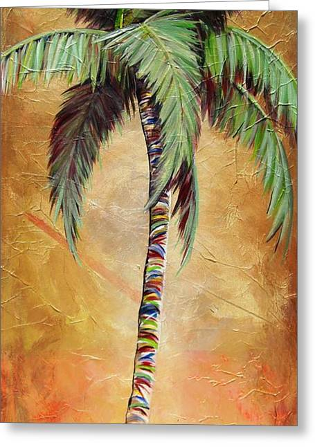 Mellow Palm II Greeting Card