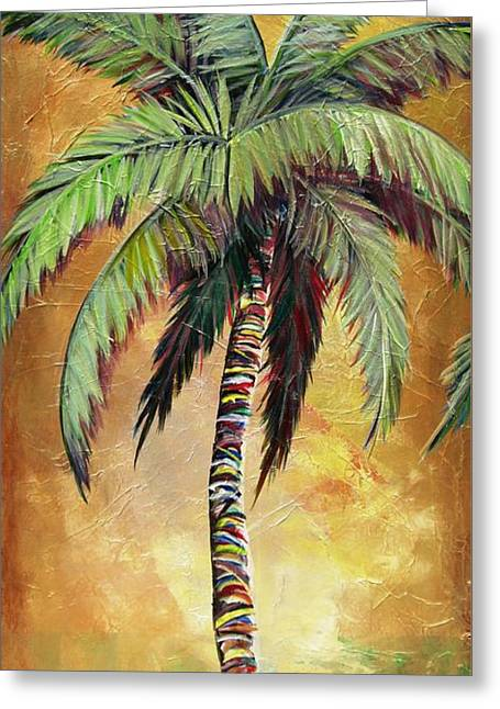 Mellow Palm IIi Greeting Card