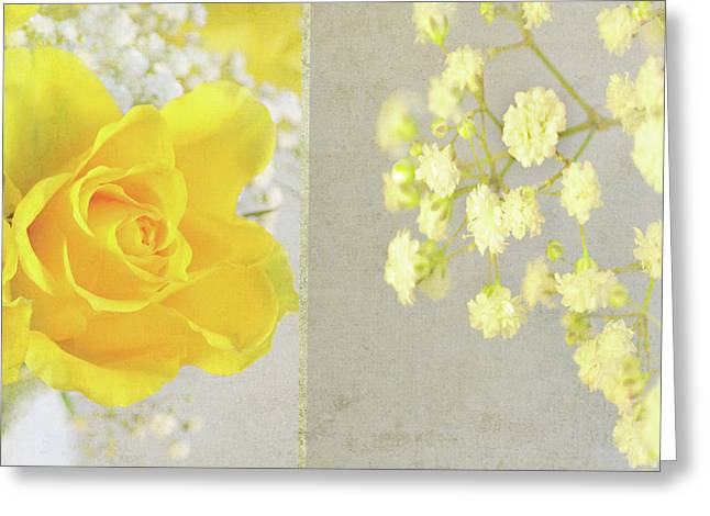Greeting Card featuring the photograph Mellow Yellow by Lyn Randle