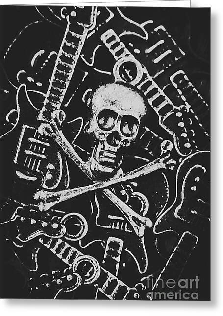 Melodic Death Metal Greeting Card