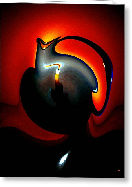 Melting Point Greeting Card by Will Borden