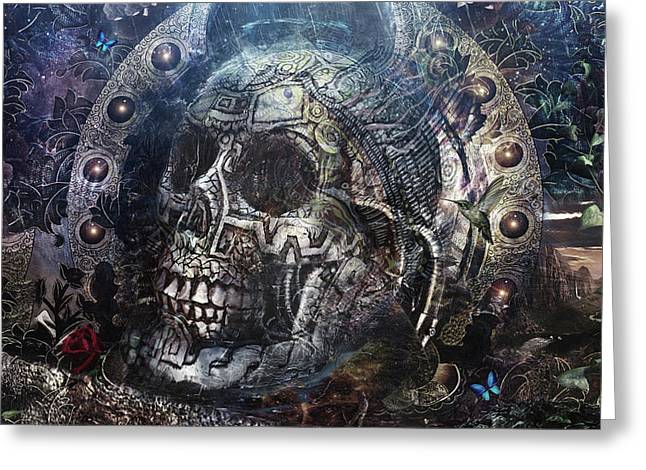 Memento Mori Greeting Card by Cameron Gray