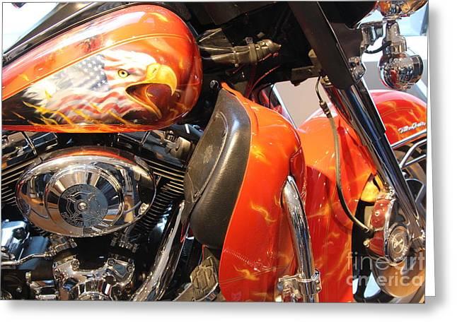 Memorial Bike 9/11   A Greeting Card