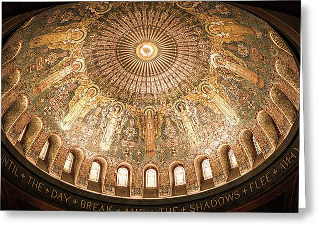 Memorial Chapel Dome Greeting Card by Art Spectrum