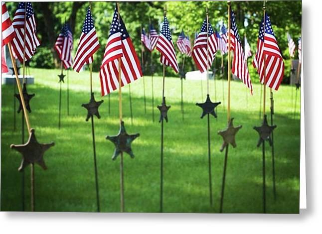 Memorial Day In America Greeting Card