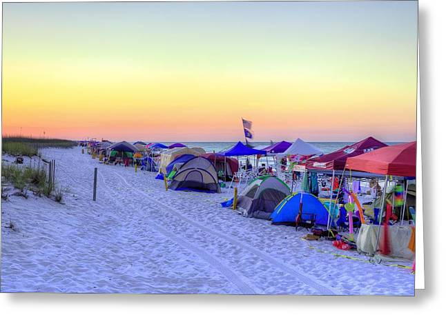 Memorial day weekend greeting cards fine art america memorial day in pensacola beach greeting card m4hsunfo