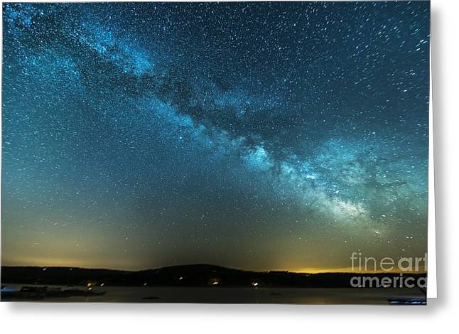 Memorial Day Milky Way Greeting Card by Patrick Fennell