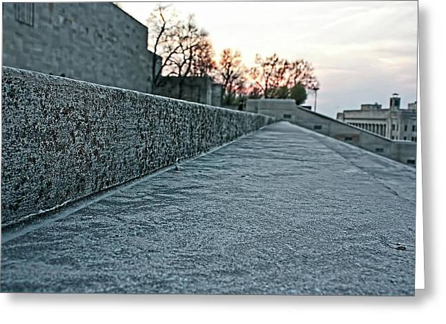 Memorial Steps Greeting Card
