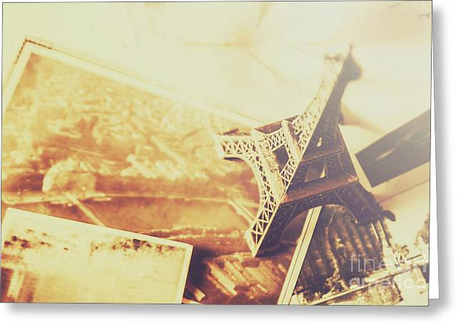 Memories And Mementoes Of Travelling France Greeting Card