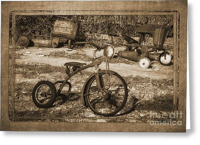 Memories Of Childhood Greeting Card by Priscilla Burgers