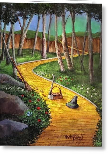 Memories Of Oz Greeting Card