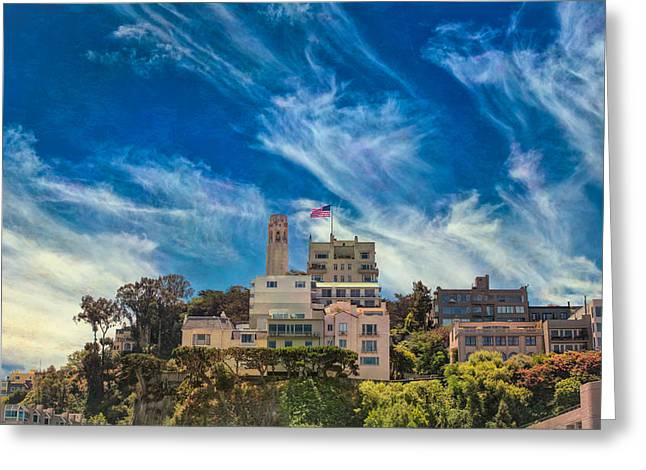 Greeting Card featuring the photograph Memories Of San Francisco by John M Bailey