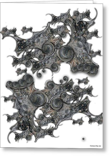 Memories Of Silent Creation Greeting Card
