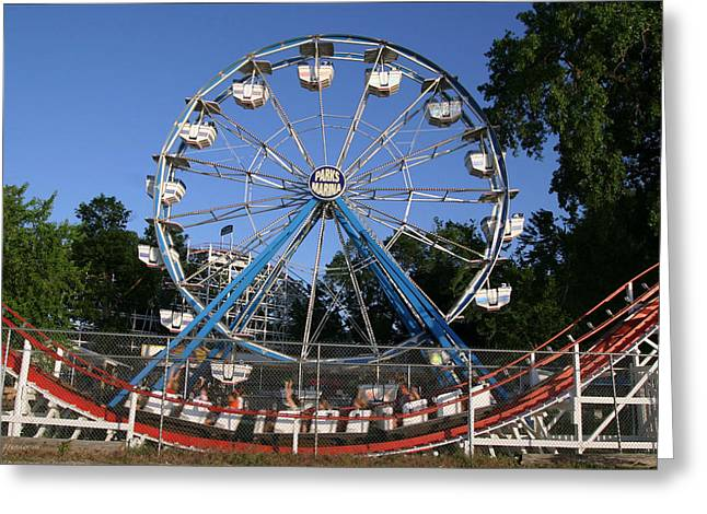 Memories Of Summer Fun Greeting Card by Gary Gunderson