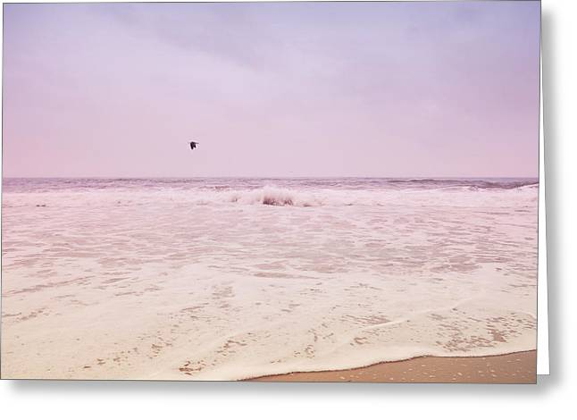 Greeting Card featuring the photograph Memories Of The Sea by Heidi Hermes