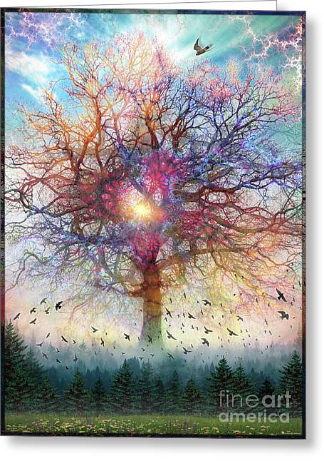 Memory Of A Tree Greeting Card