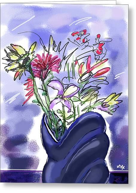 Memory Of Spring Greeting Card