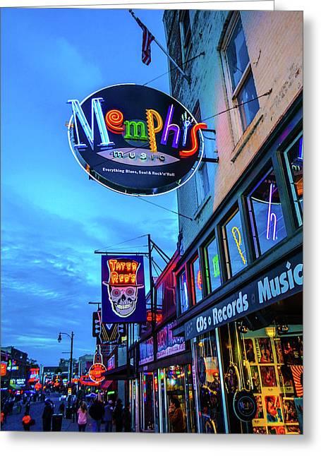 Memphis Soul Greeting Card